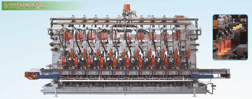 行列式制瓶机